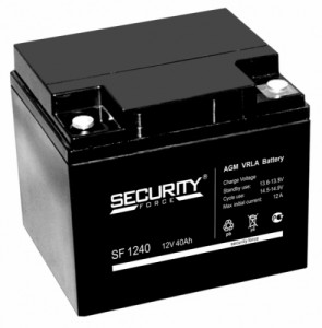 Аккумулятор Security Force SF 1240 (12V 40Ah)