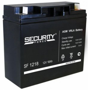 Аккумулятор Security Force SF 1218 (12V 18Ah)