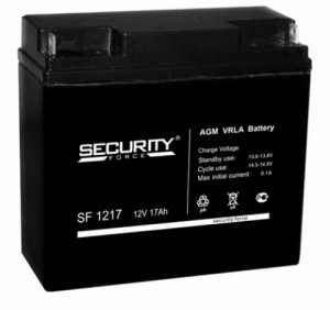 Аккумулятор Security Force SF 1217 (12V 17Ah)